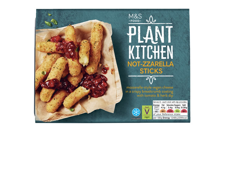 Image of Marks and Spencer 'Not-zzarella- Sticks