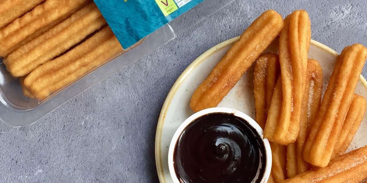 Image of Marks and Spencer vegan Churros