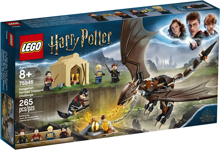 Lego Harry Potter 75946 – Hungarian Horntail Triwizard Challenge