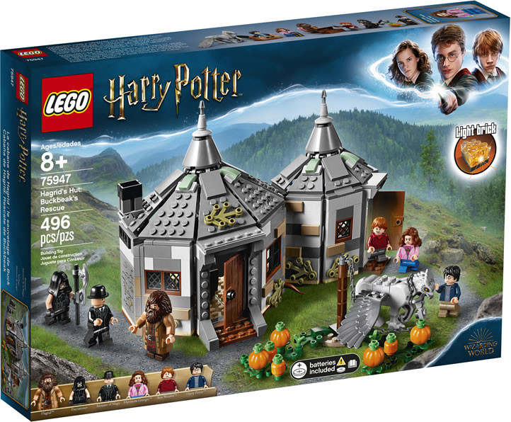 LEGO Harry Potter 75947 – Hagrid's Hut: Buckbeak's Rescue