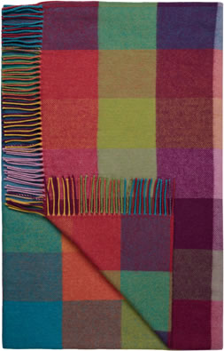 Avoca Circus Wool Throw, Multi - £110