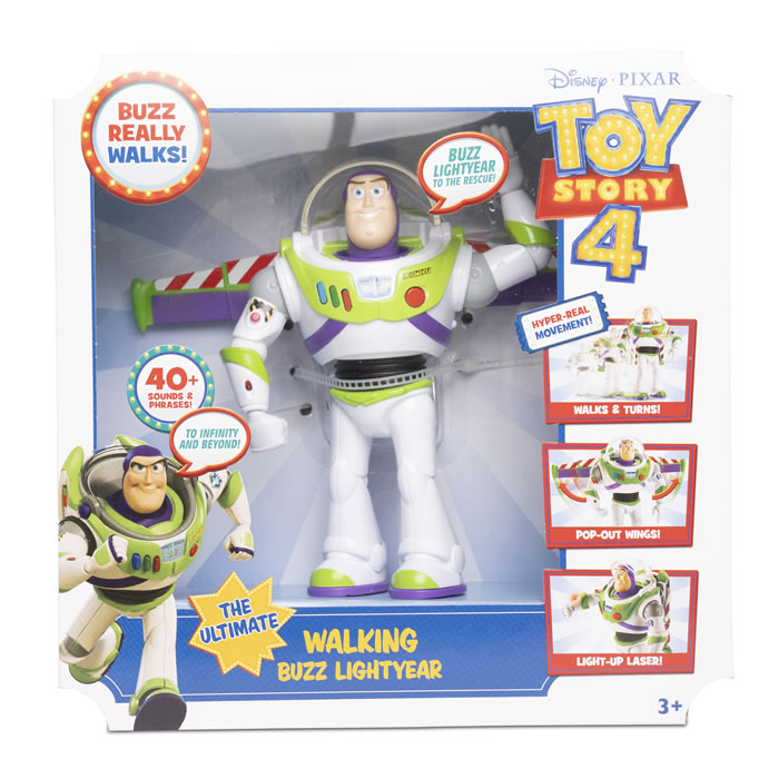 "Argos top toys: 7"" Real Walking Buzz Lightyear £35"
