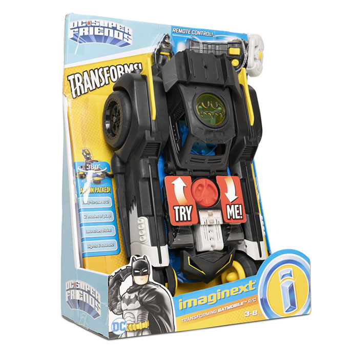 Argos top toys: Fisher Price Imaginext Transforming Batmobile £100