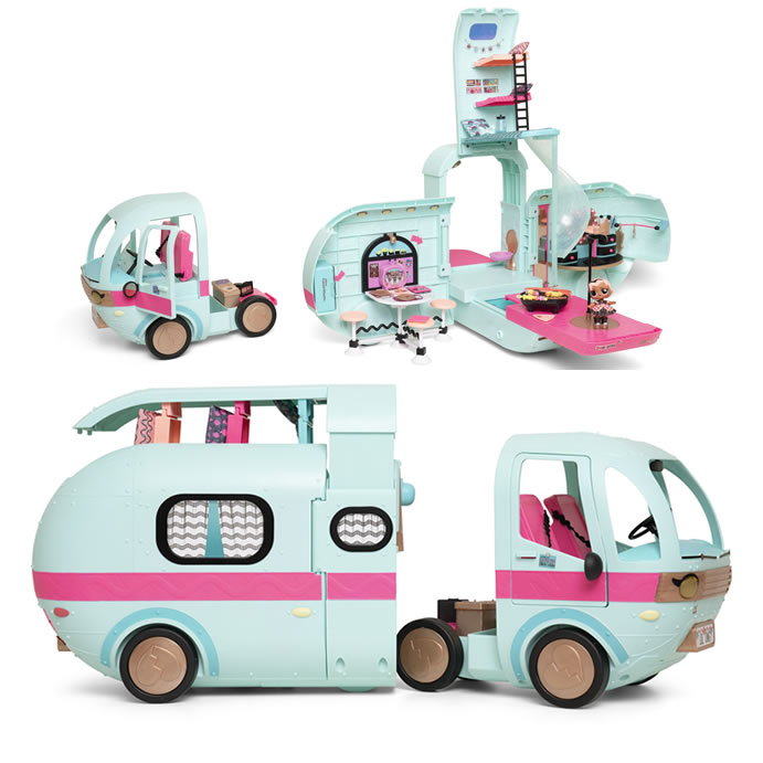 Argos top toys: LOL Suprise 2-in1 Glamper £100