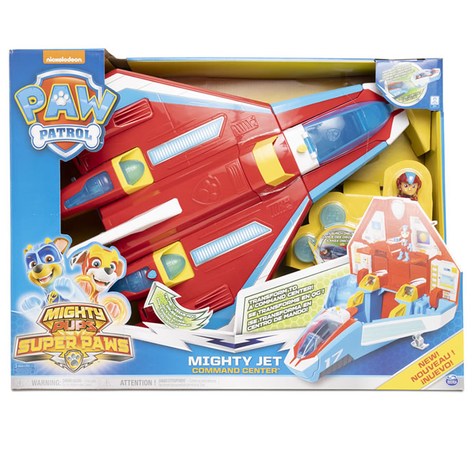 Argos top toys: Paw Patrol Mighty Pups Super Paw Jet £60