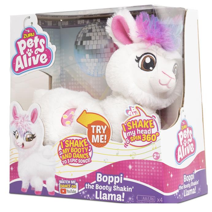 Argos top toys 2019: Pets Alive Robotic Llama - Boppi, 'The Booty Shakin' Llama
