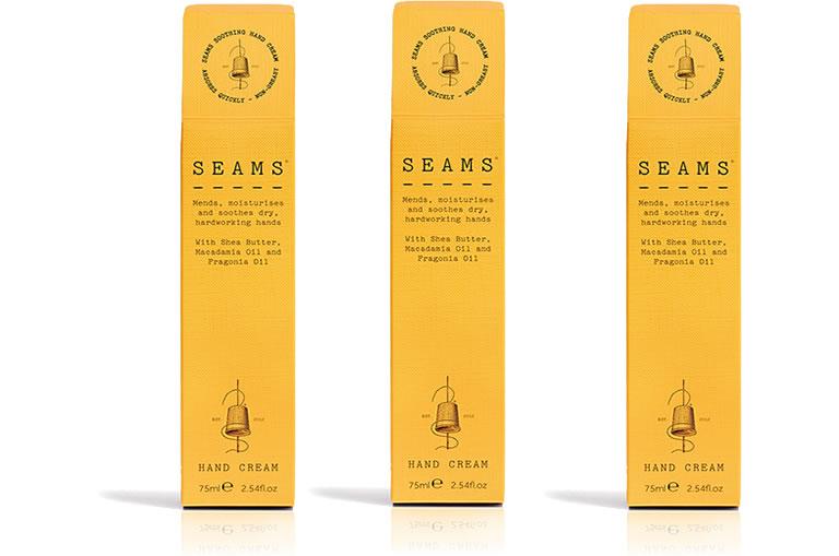 Image of SEAMS hand cream boxed