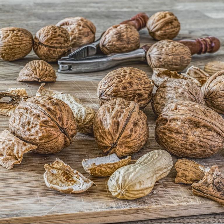 Board of walnuts