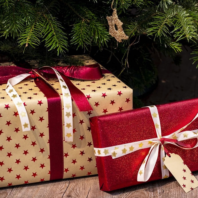 Parcels at Christmas