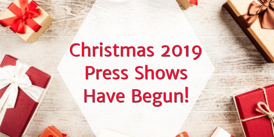 Christmas 2019 Press Show