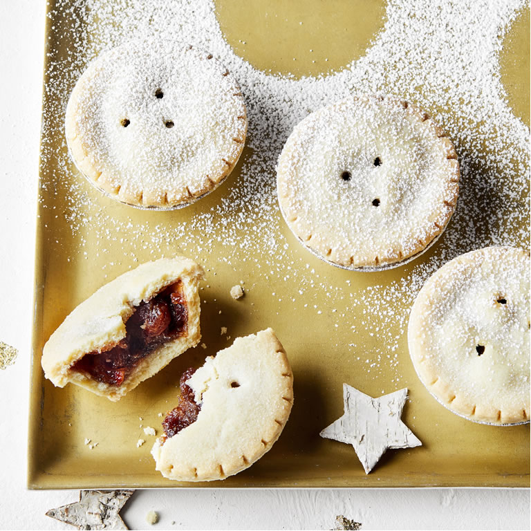 Waitrose & Partners Plum, Spiced Ginger & Honey Mince Pies