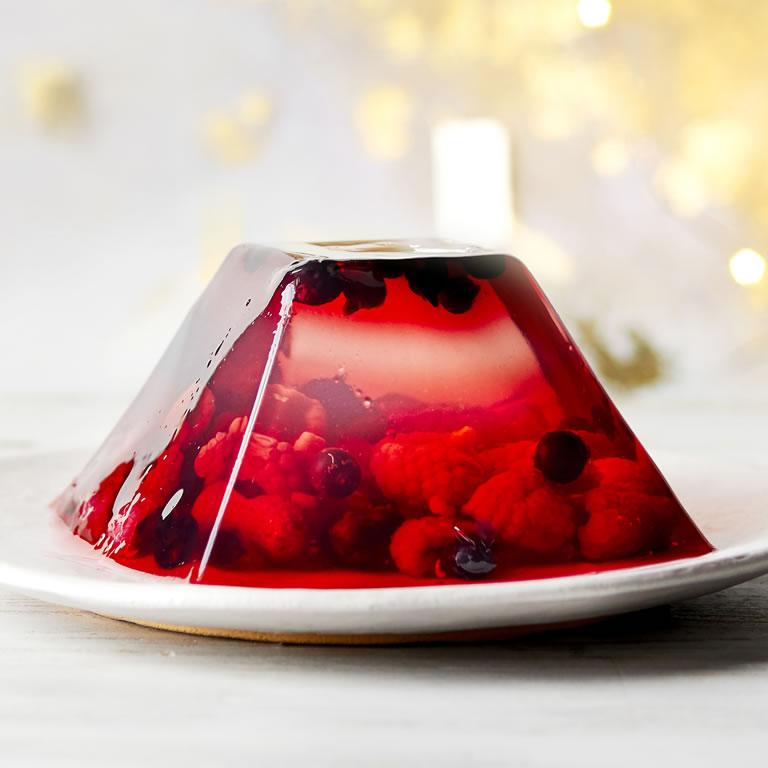 Waitrose & Partners Vegan Elderflower, Raspberry and Blackcurrent Jelly