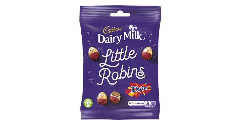 Cadbury Little Robins Daim