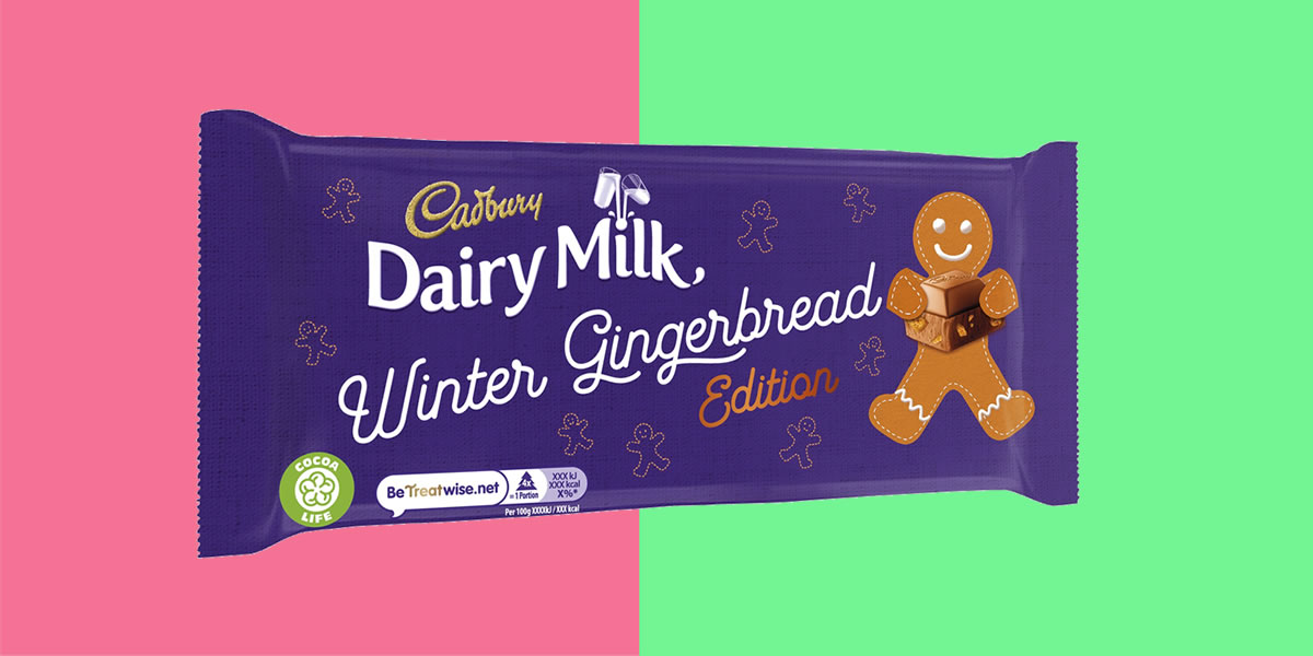 Dairy Milk Winter Gingerbread