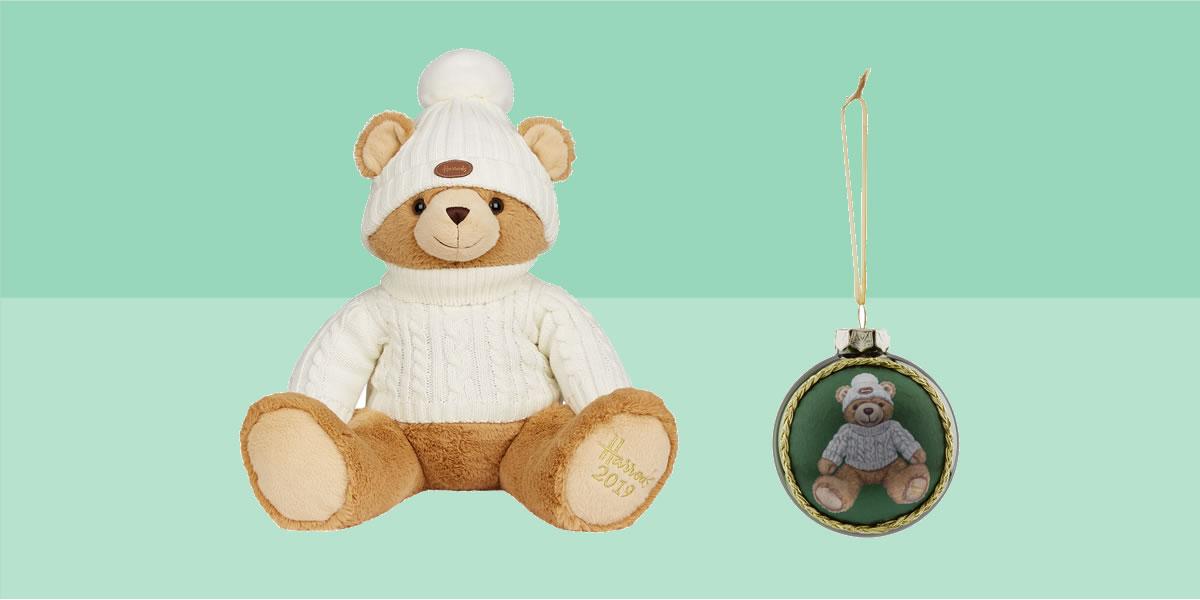 Harrods 2019 Christmas Bear Joshua