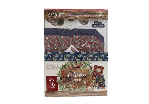 Image of Hobbycraft Christmas cards 36 pack