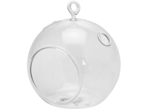 Image of Hobbycraft glass hanging bauble