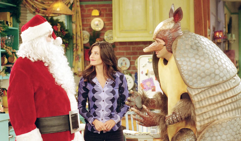 Image of Friends Christmas episode