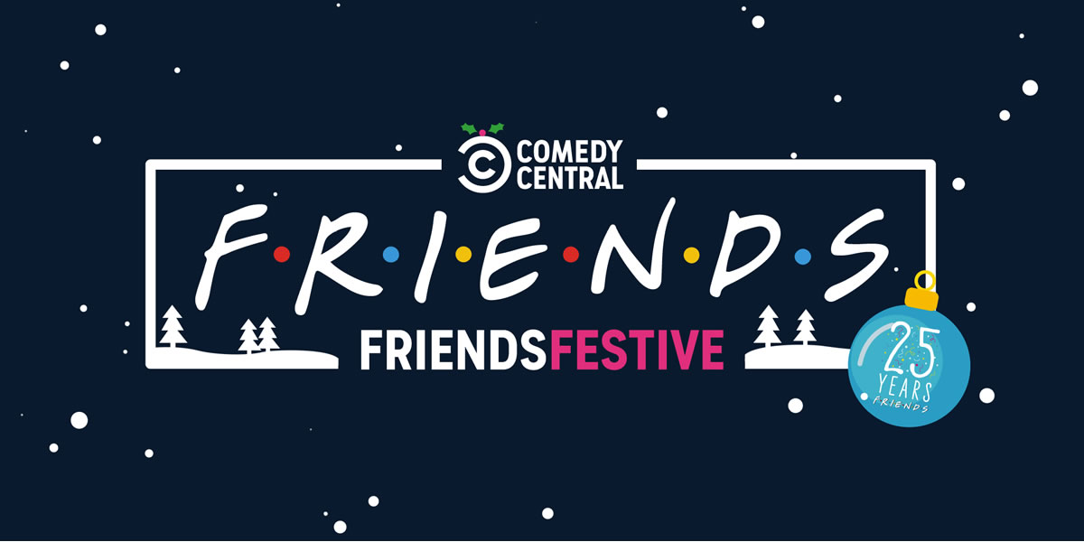 Image of FriendsFestive Comedy Central event
