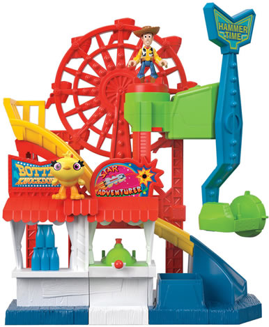 Image of Disney Pixar Toy Story 4 Imaginext Carnival Playset