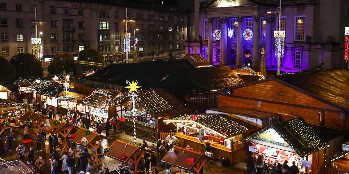 Image of Leeds Christmas market
