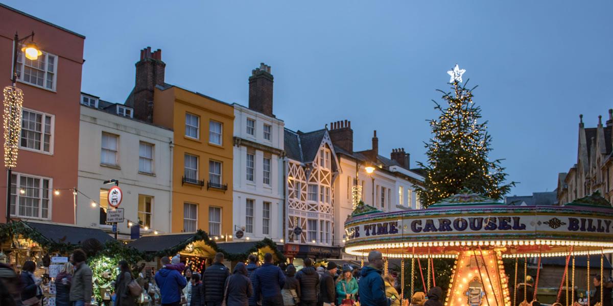 Image of Oxford Christmas market