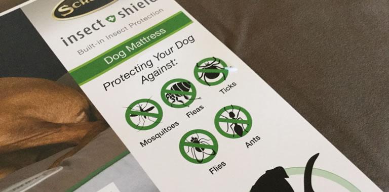 Scruffs Insect Shield® Dog Mattress Protects
