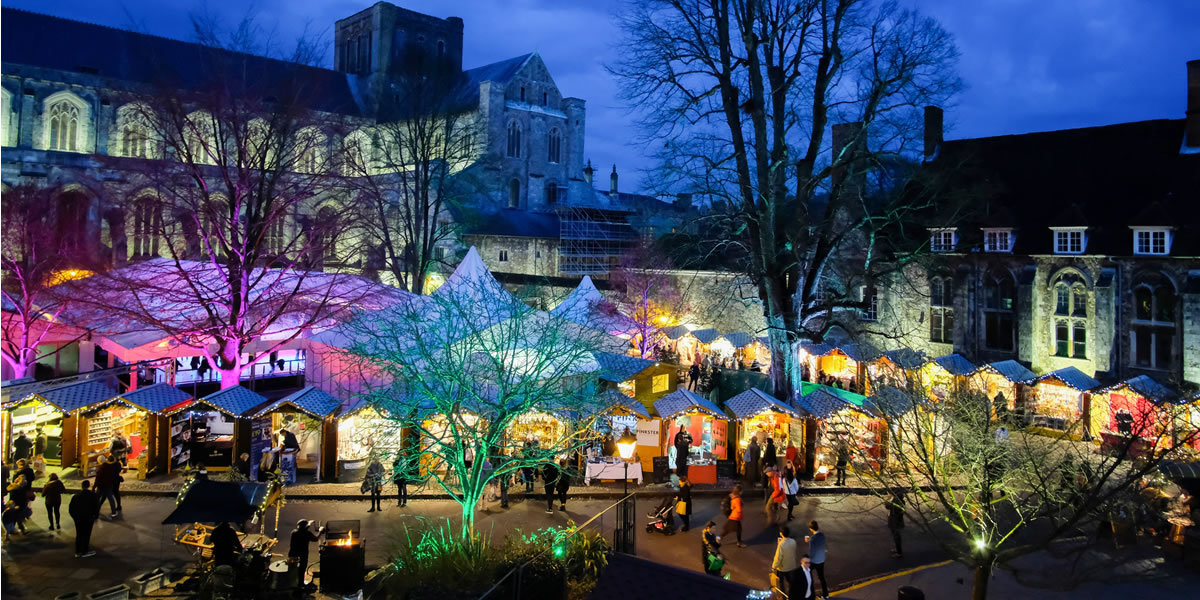 Image of Winchester Christmas market