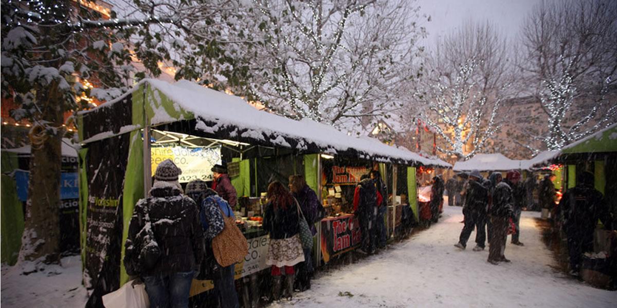 Image of York Christmas market