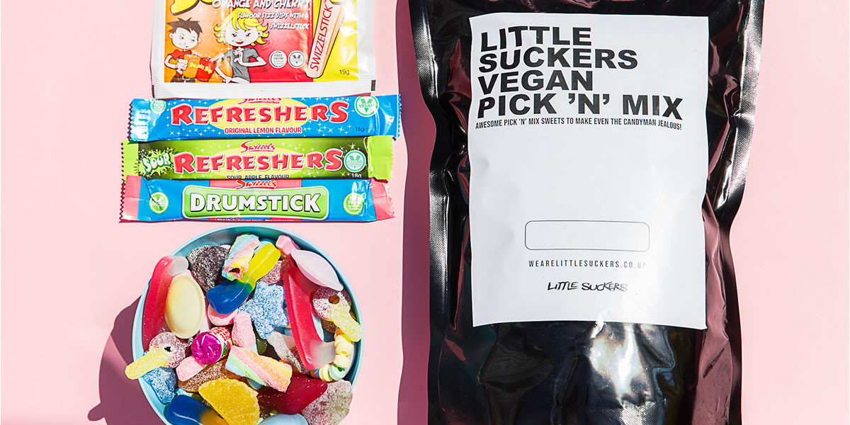 Little Suckers Vegan 'The Mighty Bag' sweets