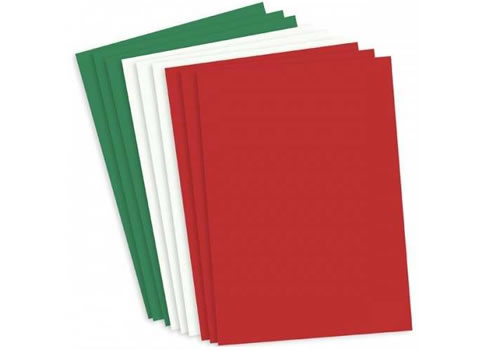Image of red/green/white card