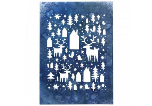 Image of Sizzix Thinlits Die Nordic Winter by Tim Holtz