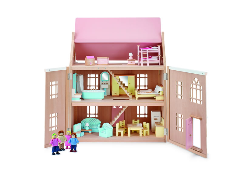 John Lewis & Partners Leckford Doll's House