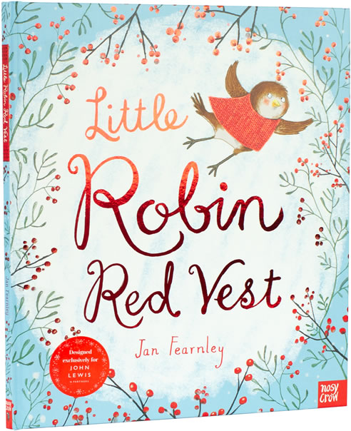 Little Robin Red Vest Book