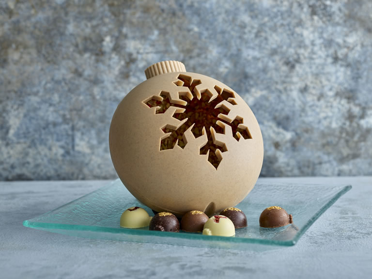 Specially Selected Exquisite Chocolate Bauble