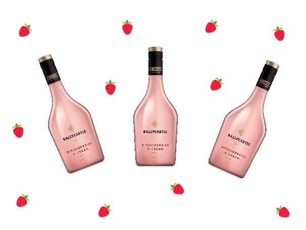 Aldi Ballycastle Strawberries & Cream Liqueur