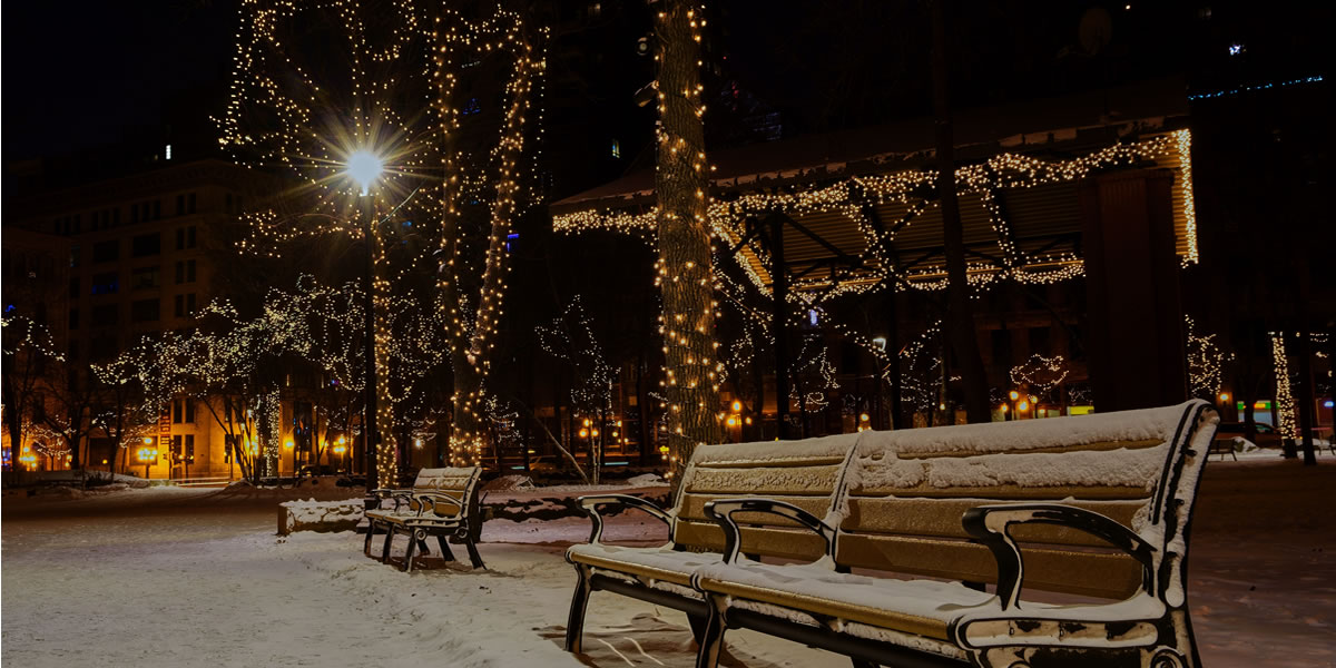 A Dark Winters night