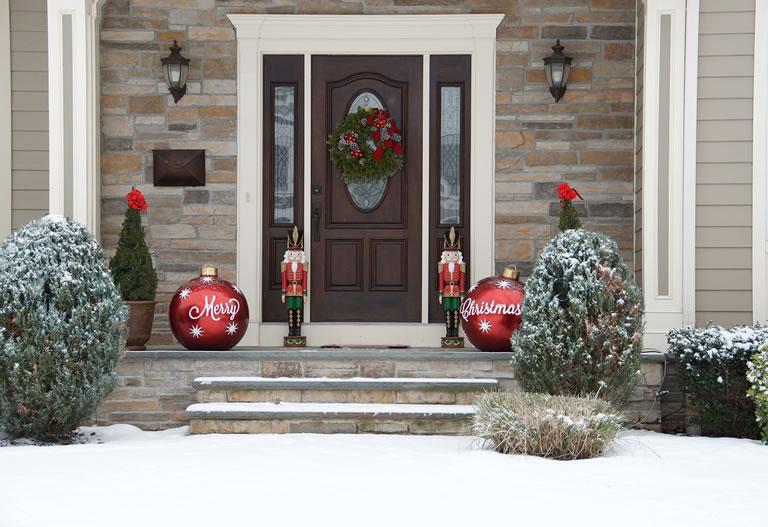 Image of Christmas door