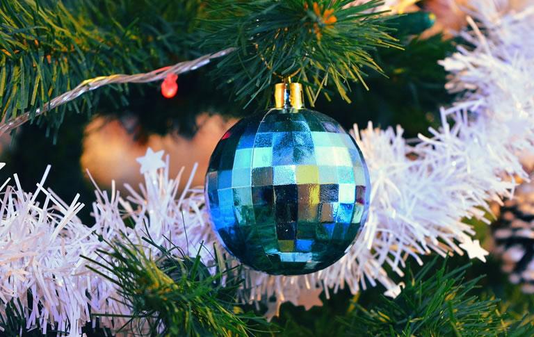 Image of Christmas tinsel