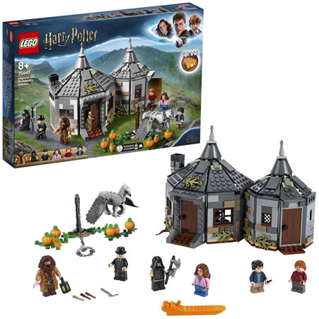 Harry Potter lego hagrids hut