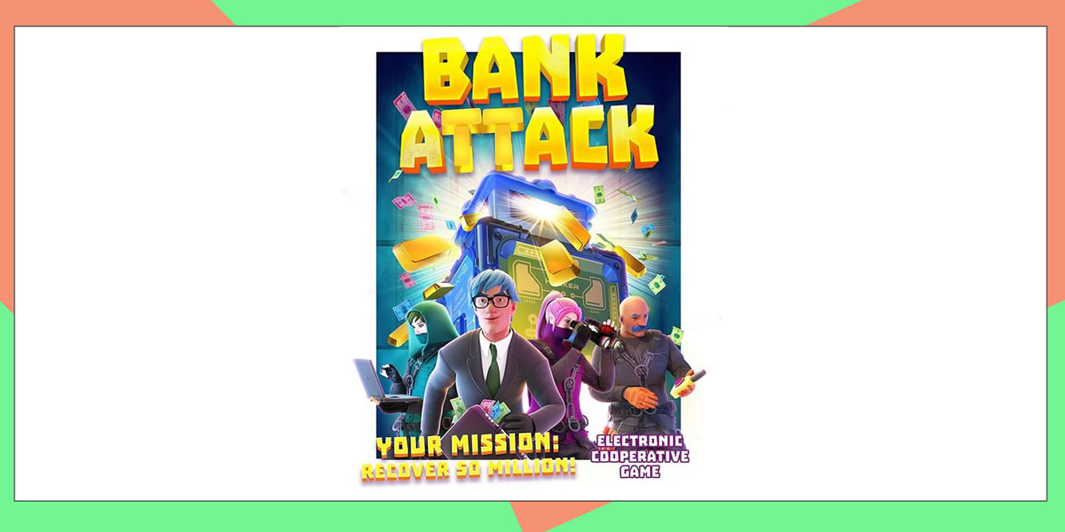 Image of John Adam's Bank Attack game