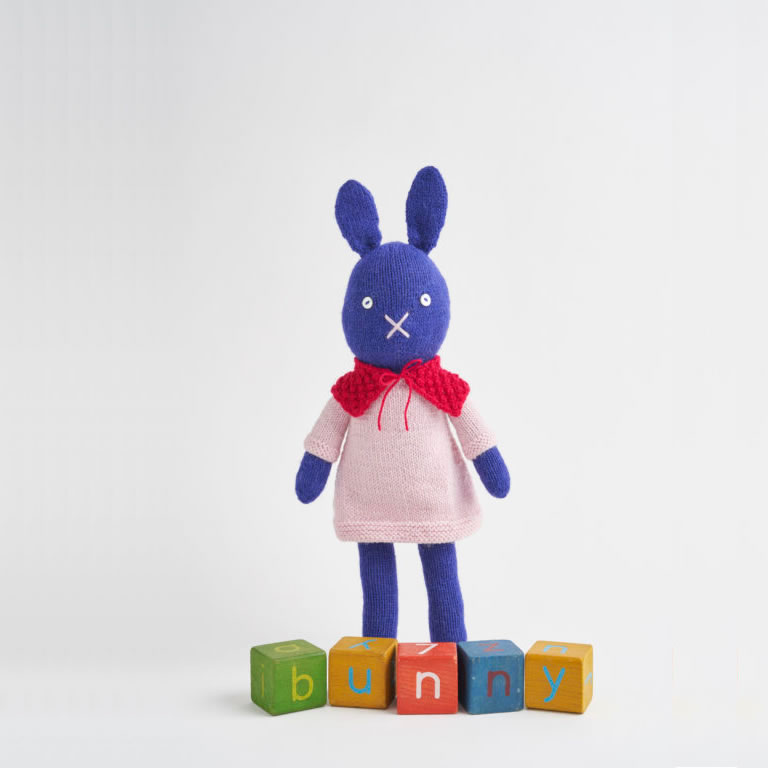 Image of knitted bunny