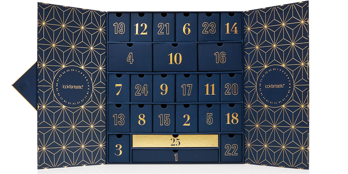 Image of Lookfantastic 2019 advent calendar
