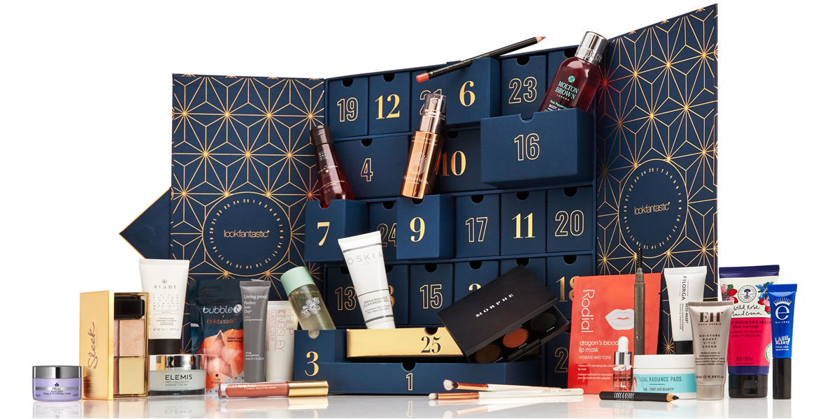 Image of Lookfantastic 2019 advent calendar what is included