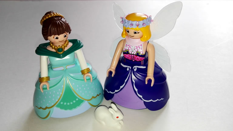 Image of Marla and Fairy Godmother Playmobile Figurine Set