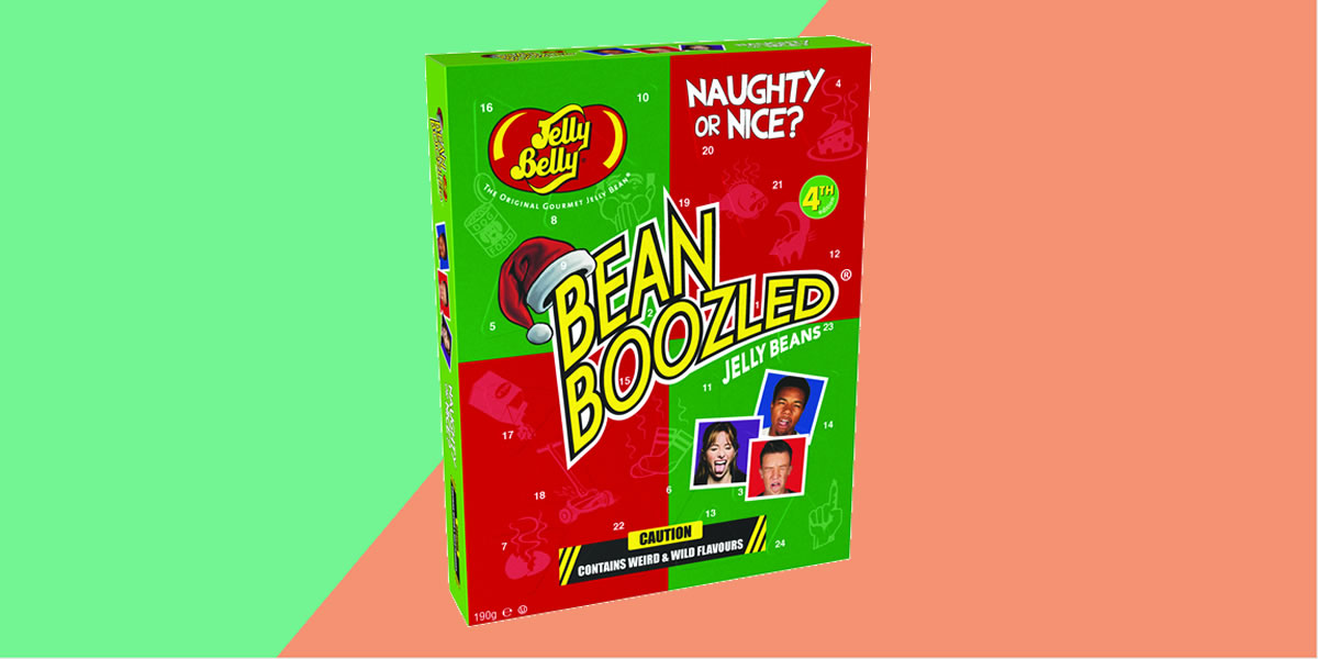 Jelly Belly bean Boozled Advent Calendar