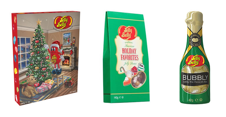 Jelly Belly Christmas 2019 range