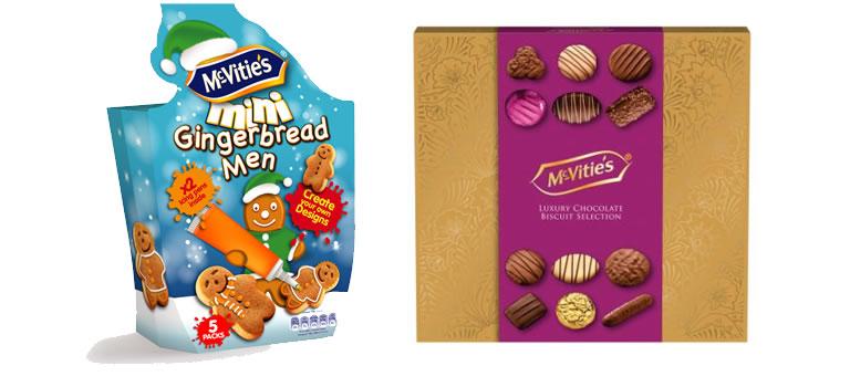 McVties Gingebread Men and Premium biscuits