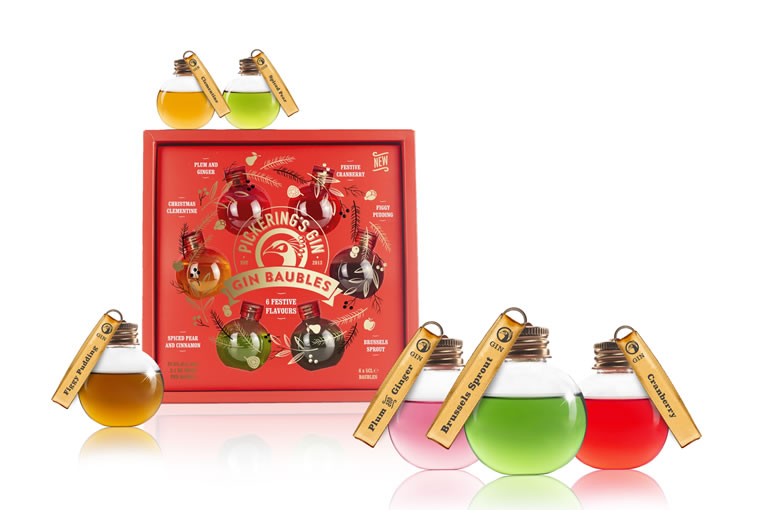 Pickering's Gin 2019 Bauble Gift Set Christmas