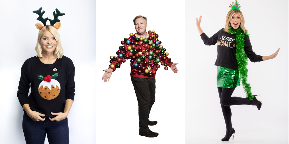 Save the Children Christmas Jumper Day Celebrities 2019